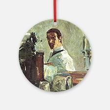 toulouse lautrec Ornament (Round)