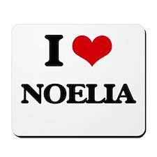 I Love Noelia Mousepad