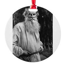 leo tolstoy Ornament