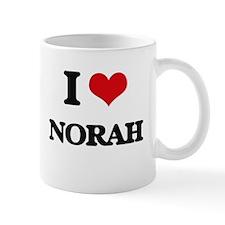 I Love Norah Mugs