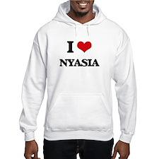 I Love Nyasia Hoodie Sweatshirt