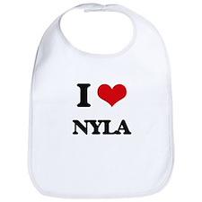 I Love Nyla Bib