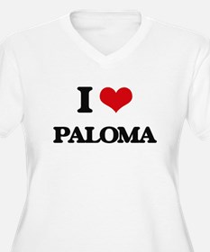 I Love Paloma Plus Size T-Shirt
