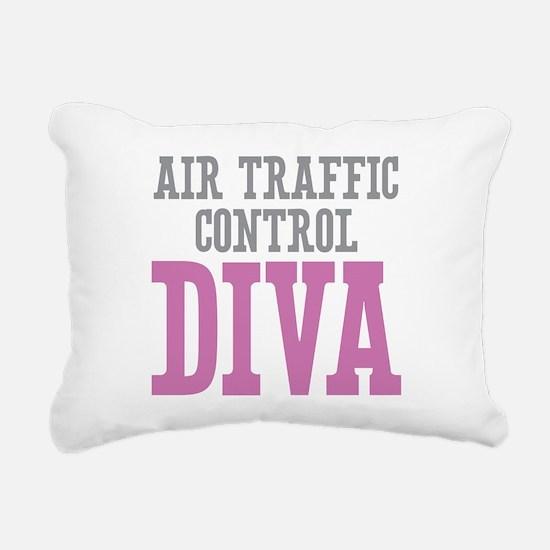 Air Traffic Control DIVA Rectangular Canvas Pillow