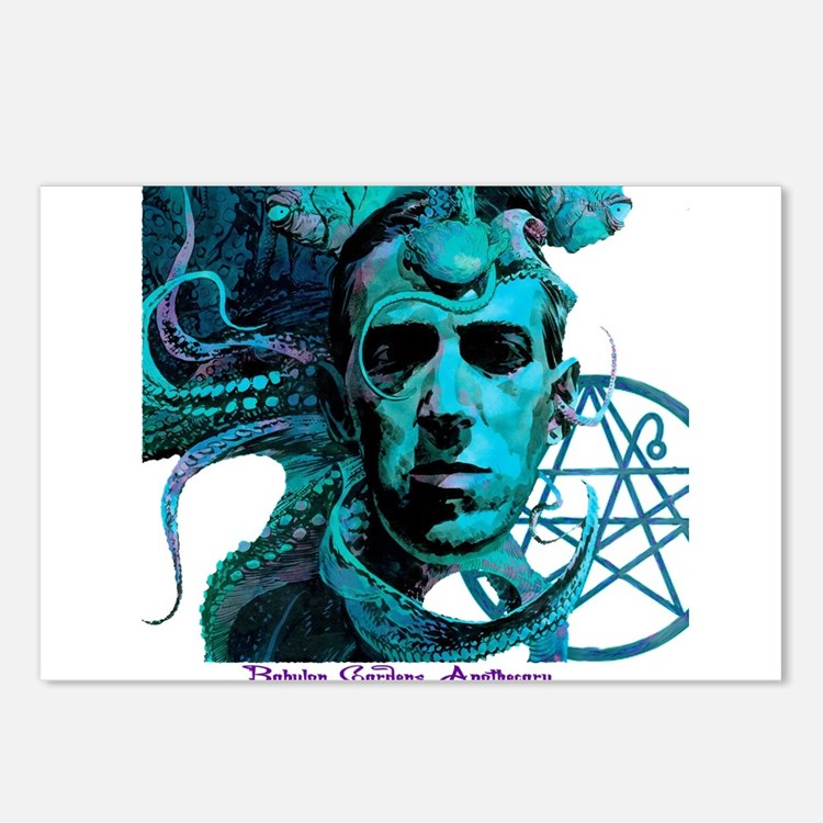 HP Lovecraft Postcards (Package of 8)