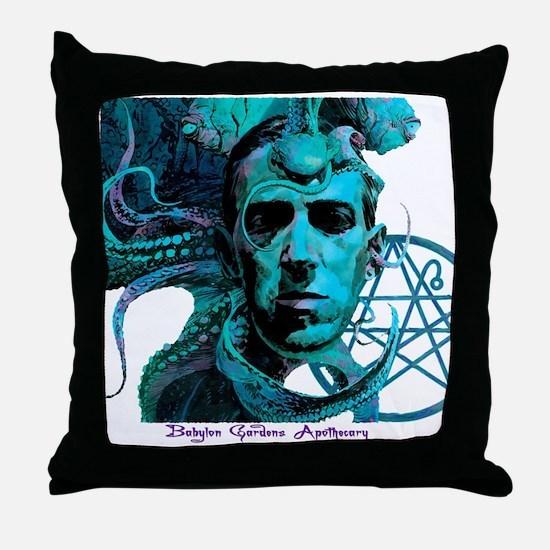 HP Lovecraft Throw Pillow