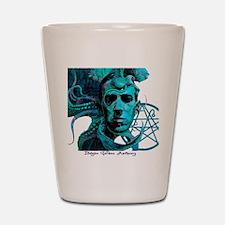 HP Lovecraft Shot Glass