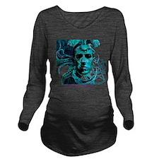HP Lovecraft Long Sleeve Maternity T-Shirt