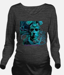 HP Lovecraft Long Sleeve Maternity T-Shirt