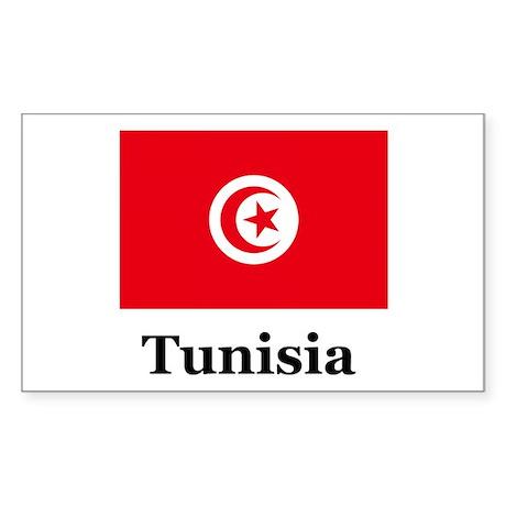 Tunisian Heritage Rectangle Sticker