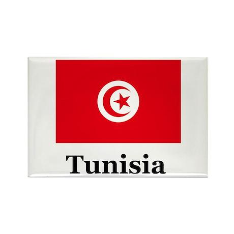 Tunisian Heritage Rectangle Magnet