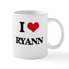I Love Ryann Mugs