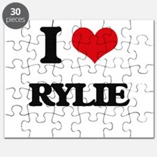 I Love Rylie Puzzle
