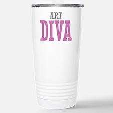 Art DIVA Stainless Steel Travel Mug