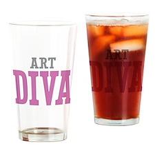 Art DIVA Drinking Glass