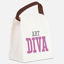 Art DIVA Canvas Lunch Bag