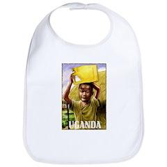 Vintage Uganda Art Bib