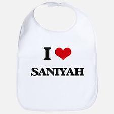 I Love Saniyah Bib