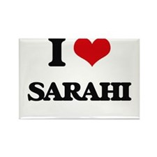 I Love Sarahi Magnets