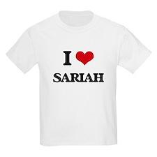 I Love Sariah T-Shirt