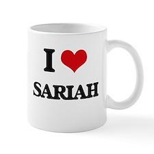 I Love Sariah Mugs