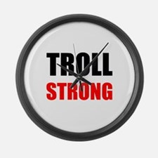 Troll Strong Large Wall Clock