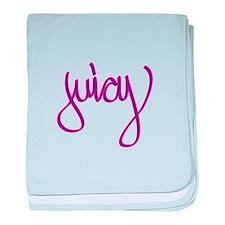 Juicy baby blanket