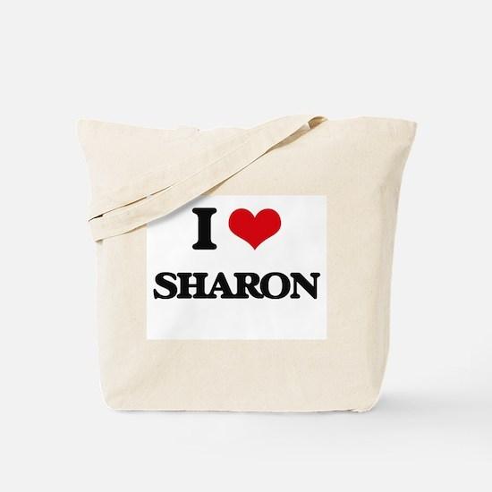 I Love Sharon Tote Bag