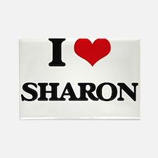 I Love Sharon Magnets