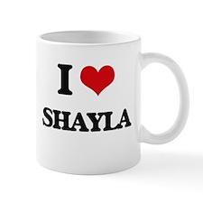 I Love Shayla Mugs