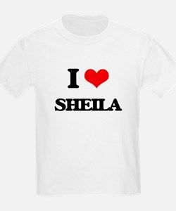 I Love Sheila T-Shirt