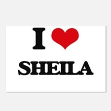 I Love Sheila Postcards (Package of 8)