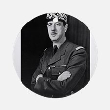 charles degaulle Ornament (Round)