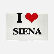 I Love Siena Magnets