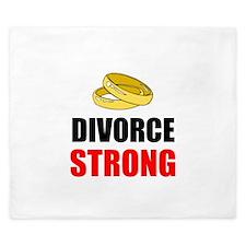 Divorce Strong King Duvet