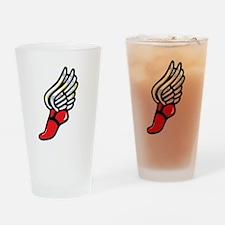 Athlete Drinking Glass
