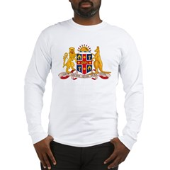 New South Wales Coat of Arms Long Sleeve T-Shirt