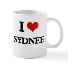 I Love Sydnee Mugs