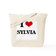 I Love Sylvia Tote Bag