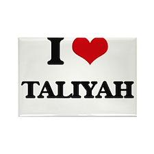 I Love Taliyah Magnets