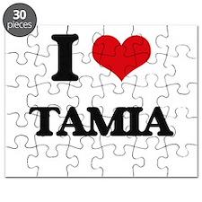 I Love Tamia Puzzle
