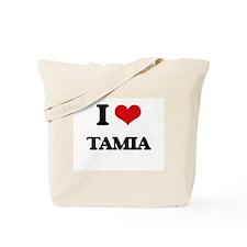 I Love Tamia Tote Bag