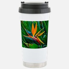 Bird of Paradise Stainless Steel Travel Mug