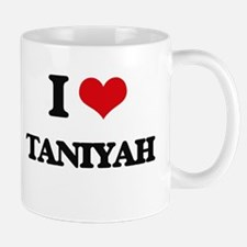 I Love Taniyah Mugs
