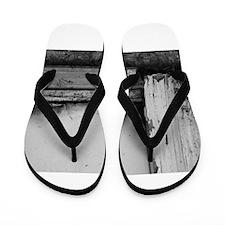 Abandoned Door Flip Flops