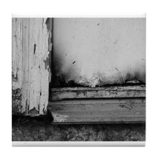 Abandoned Door Tile Coaster
