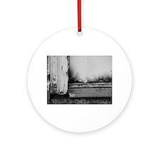 Abandoned Door Ornament (Round)