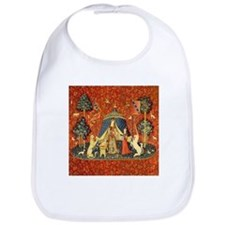 Lady and the Unicorn Medieval Tapestry Art Bib