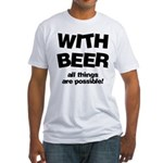 Beer Possibilities Fitted T-Shirt