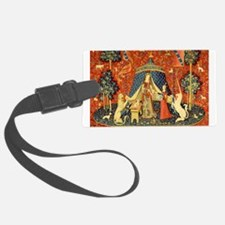 Lady and the Unicorn Medieval Tapestry Art Luggage